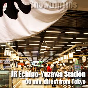 JR Echigo-Yuzawa Station Sake Museum Ponshu-kan, niigata, Japan