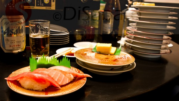 No chance to run out on the bill. You`ll be too fat from 15 plates of salmon, cod, squid, makerel, tuna an dother random raw fish.