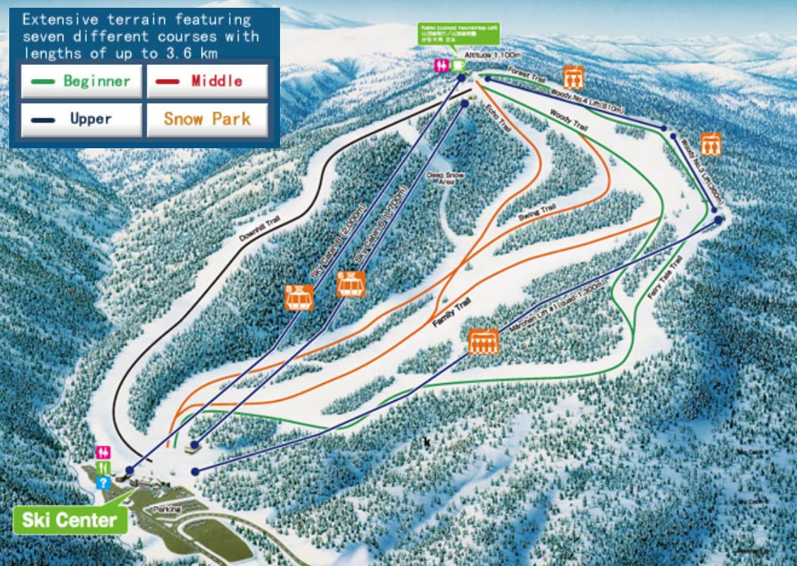 Sapporo-Kokusai-ski-trail-map