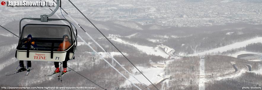 JapanSnowtripTips-Teine-Highland-Skiing-Snowboarding-Sapporo-Hokkaido-Japan-banner-lifts