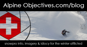 Alpine Objectives blog - info, imagery & idiocy for the winter afflicted